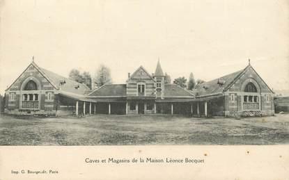 """CPA FRANCE 21 """"Savigny les Beaune, Caves et magasins de la Maison Léonce Bocquet"""""""