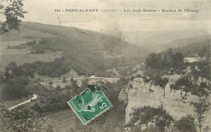 """CPA FRANCE 21 """"Pont de Pany, Roches de l'Etang"""""""