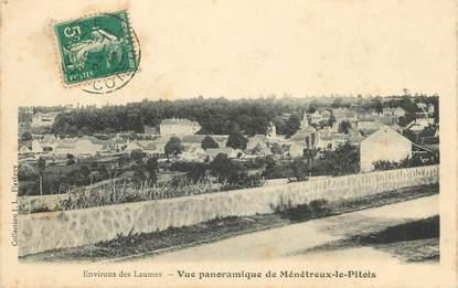 """CPA FRANCE 21 """"Env. des Laumes, Ménétreux le Pitois"""""""