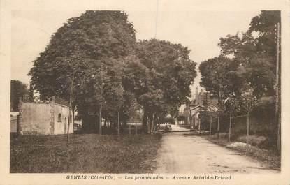 """CPA FRANCE 21 """"Genlis, avenue Aristide Briand"""""""