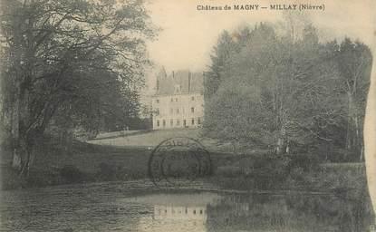 """/ CPA FRANCE 58 """"Millay, château de Magny"""""""