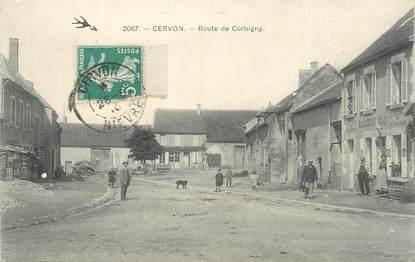 """/ CPA FRANCE 58 """"Cernon, route de Corbigny"""""""