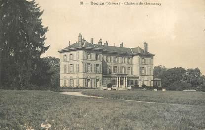 """/ CPA FRANCE 58 """"Decize, château de Germancy"""""""