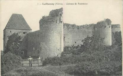"""/ CPA FRANCE 58 """"Luthenay, château de Rosemont"""""""