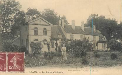 """/ CPA FRANCE 58 """"Alluy, le vieux château"""""""