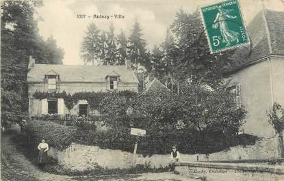 "/ CPA FRANCE 58 ""Anlesy, villa"""