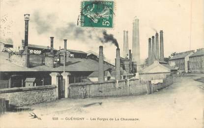 """/ CPA FRANCE 58 """"Guerigny, les forges de la Chaussade"""""""