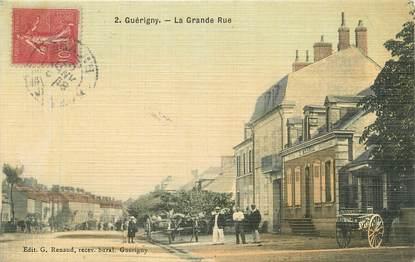"""/ CPA FRANCE 58 """"Guerigny, la grande rue"""""""