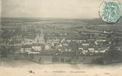 """/ CPA FRANCE 58 """"Premery, vue générale """""""