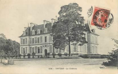 """/ CPA FRANCE 58 """"Tintury, le château"""""""