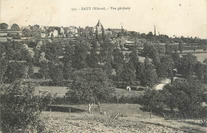"""/ CPA FRANCE 58 """"Saizy, vue générale"""""""