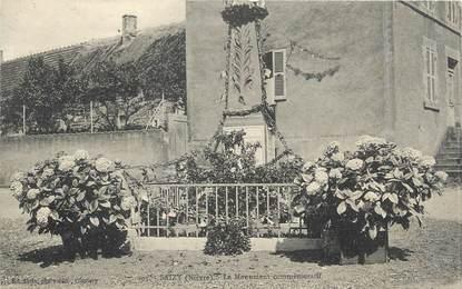 """/ CPA FRANCE 58 """"Saizy, le monument commémoratif"""""""