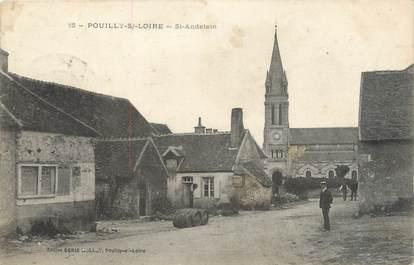 """/ CPA FRANCE 58 """"Pouilly sur Loire, Saint Andelain"""""""