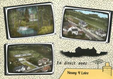 """/ CPSM FRANCE 58 """"Neuvy sur Loire"""""""
