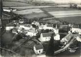 """58 Nievre / CPSM FRANCE 58 """"Poil, vue aérienne sur la poste et l'église"""""""