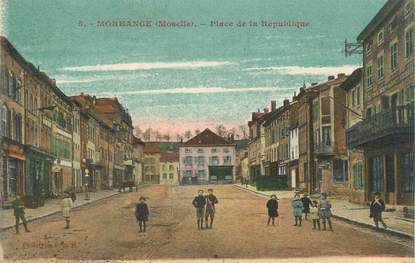 """/ CPA FRANCE 57 """"Morhange, place de la République"""""""