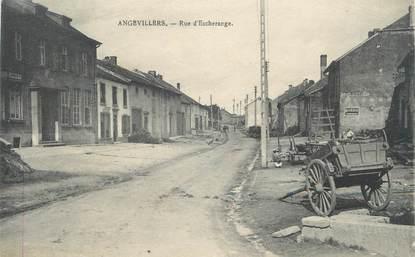 """/ CPA FRANCE 57 """"Angevillers, rue d'Escherange"""""""