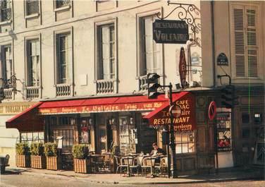"""/ CPSM FRANCE 75007 """"Paris, restaurant le Voltaire"""""""
