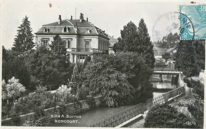 """/ CPSM FRANCE 90 """"Boncourt, villa A Burrus"""""""