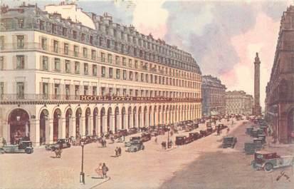 "/ CPA FRANCE 75001 ""Paris, Hôtel Lotti"""