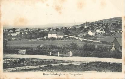 """/ CPA FRANCE 39 """"Beaufort du Jura, vue générale"""""""