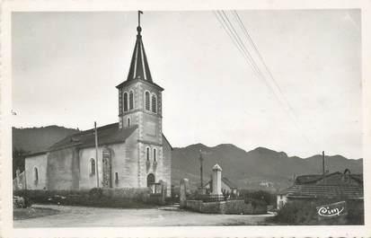 """/ CPSM FRANCE 39 """"Cornod, l'église et la place"""""""