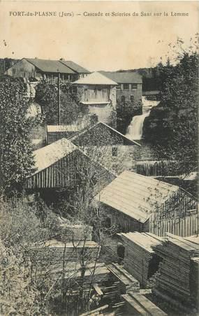 """/ CPA FRANCE 39 """"Fort du Plasne, cascade et scieries du Saut sur la Lemme"""""""