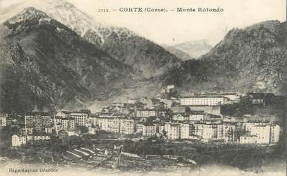 """/ CPA FRANCE 20 """"Corse, Corte, Monte Rotondo"""""""