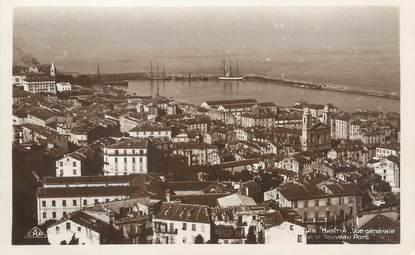 """/ CPA FRANCE 20 """"Corse, Bastia, vue générale et vue sur le port"""""""