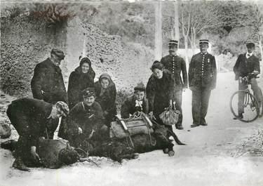 """/ CPSM FRANCE 20 """"Corse, Bonifacio, le déraillement du train, les secours"""""""