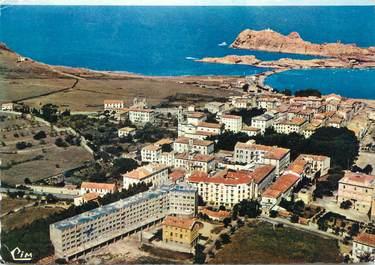 """/ CPSM FRANCE 20 """"Corse, Ile Rousse, vue générale aérienne """""""