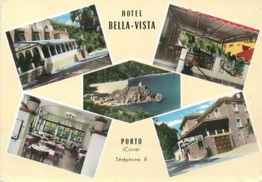 "/ CPSM FRANCE 20 ""Corse, Porto, hôtel Bella Vista"""