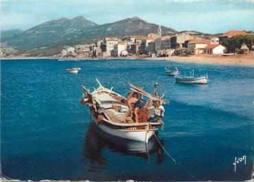 "/ CPSM FRANCE 20 ""Corse, Propriano, petit port"" / BATEAU"