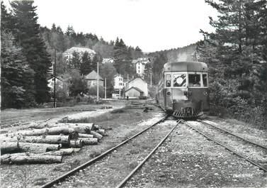 """/ CPSM FRANCE 20 """"Corse, Vizzavona, la gare"""" / TRAIN"""