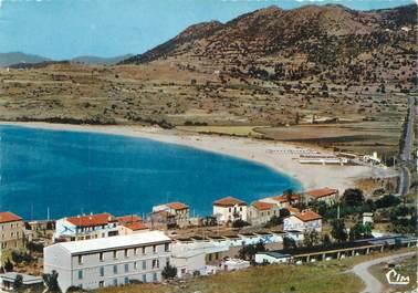 """/ CPSM FRANCE 20 """"Corse, Algajola, les hôtels et la plage"""""""