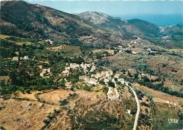 """/ CPSM FRANCE 20 """"Corse, Calcatoggio, vue d'ensemble du village """""""