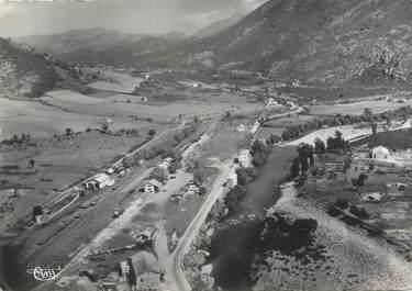 """/ CPSM FRANCE 20 """"Corse, Ponte Leccia, vue aérienne sur la vallée et le Golo"""""""