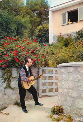 """/ CPSM FRANCE 20 """"Corse, Paulo Quilici"""" / GUITARISTE"""
