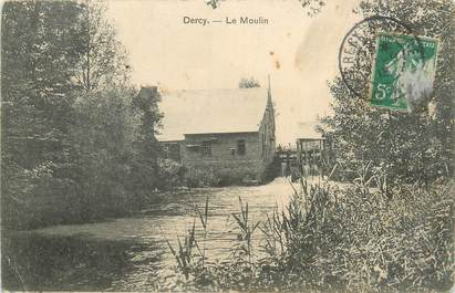 "/ CPA FRANCE 02 ""Dercy, le moulin"""