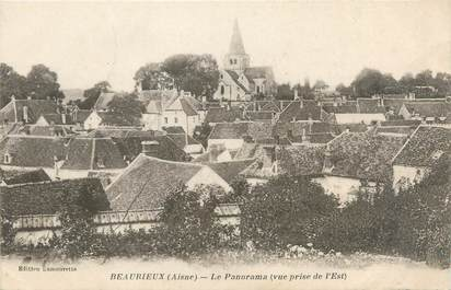 "/ CPA FRANCE 02 ""Beaurieux, le panorama"""