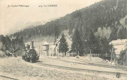 """/ CPA FRANCE 15 """"Le Lorian"""" / TRAIN"""