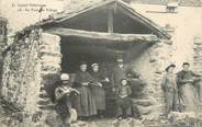 "15 Cantal / CPA FRANCE 15 ""Au four du village"""