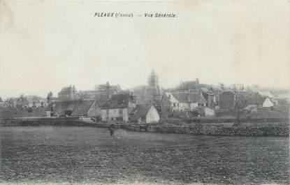 """/ CPA FRANCE 15 """"Pleaux, vue générale"""""""
