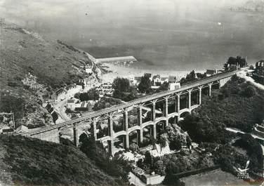 """/ CPSM FRANCE 22 """"Bréhec, le viaduc et le Bourg"""""""