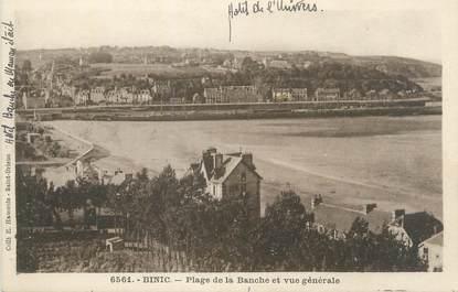 """/ CPA FRANCE 22 """"Binic, plage de la Banche et vue générale"""""""