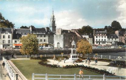 "/ CPSM FRANCE 22 ""Binic, quai de Courcy """