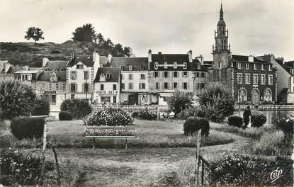 """/ CPSM FRANCE 22 """"Binic, le jardin public et le quai de Courcy """""""