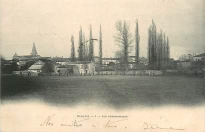 """/ CPA FRANCE 17 """"Gemozac, vue panoramique"""""""