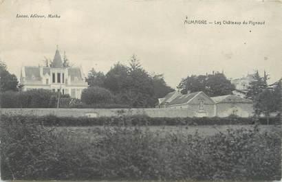 """/ CPA FRANCE 17 """"Aubagne, les châteaux du Pigneaud"""""""