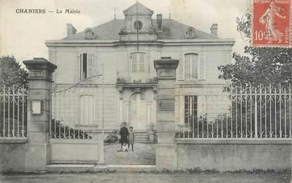 """/ CPA FRANCE 17 """"Chaniers, la mairie"""""""